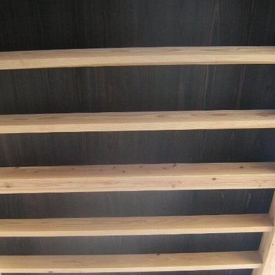 「展望階段の家」ポーチ天井2