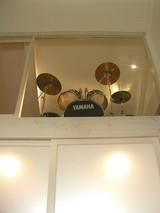 ロフトのドラム置場�