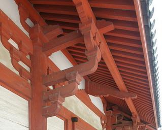 浄土寺浄土堂 挿肘木と遊離尾垂木