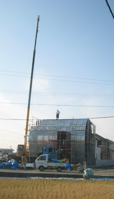 Kimoty House上棟 2007.12.27