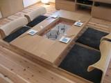 箱火鉢の座卓