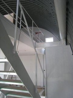 階段吹き抜け部2