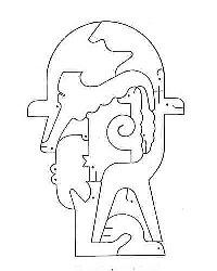 小黒三郎『マグリッドの帽子の男』