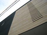 板張りの外壁