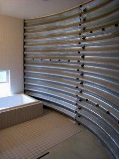 浴室側2008.3.26撮影