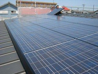太陽電池設置1