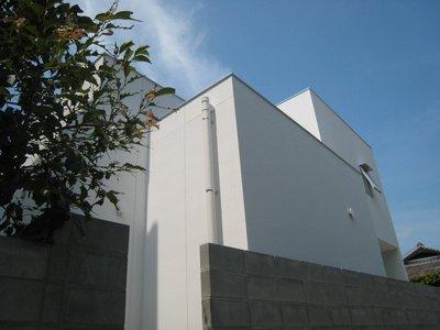 北側の外観
