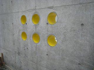 黄色のペンキ塗り3
