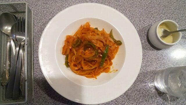 スパゲティナポリタン1