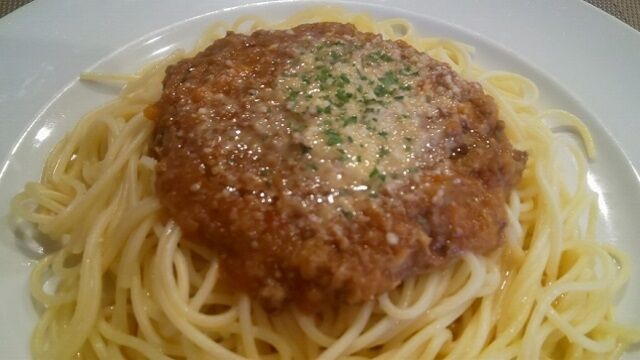 スパゲッティミートソース 3