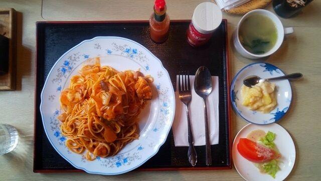 スパゲティナポリタン 1