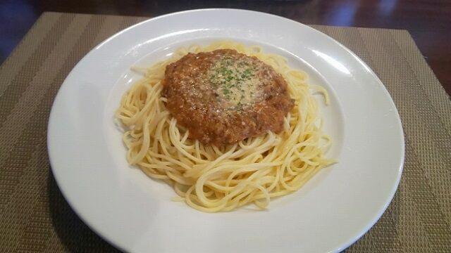 スパゲッティミートソース 2