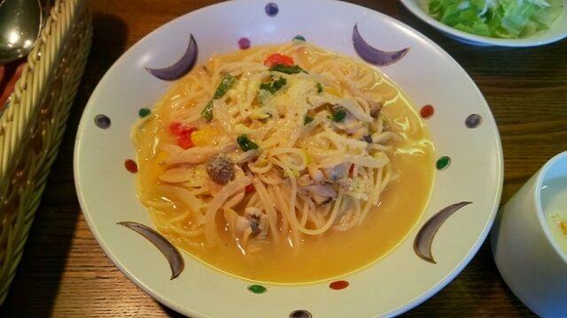 アサリのスパゲッティーセット 2