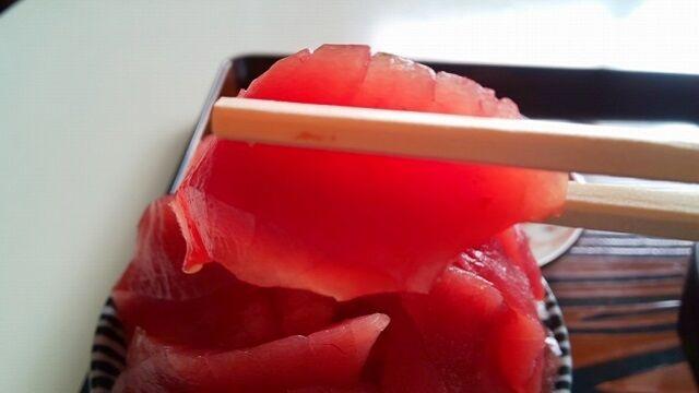 本マグロ丼4
