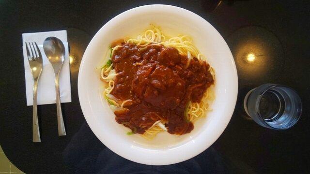 カレースパゲッティ 1