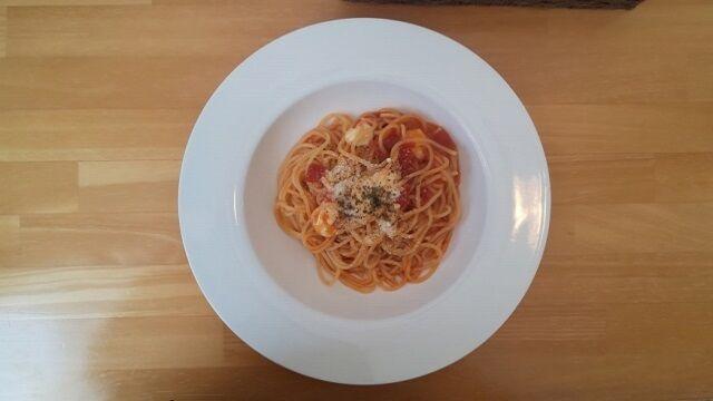 モッツァレラチーズのトマトソース 1