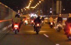 オートバイで集団暴走容疑 「不死鷹」メンバー23人を書類送検 横浜市