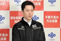 吉村知事「第5波あり得る」 新規感染者減少も危機感「残念ながら大阪の現実」