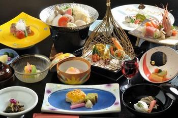 料理の美味い温泉宿