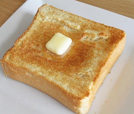 トースト食べたいがどうすればいい