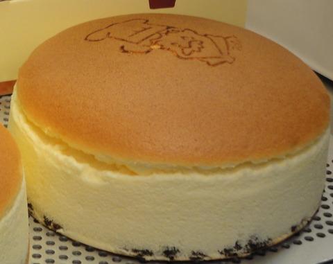 りくろーおじさんのチーズケーキが美味しい