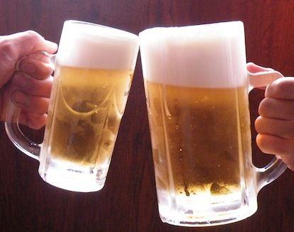 瓶ビールかジョッキビールか?