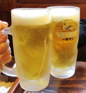 05 ビールで乾杯