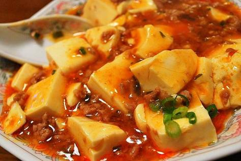 麻婆豆腐の食べ方