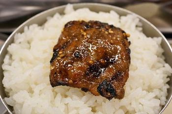 焼肉と白ご飯