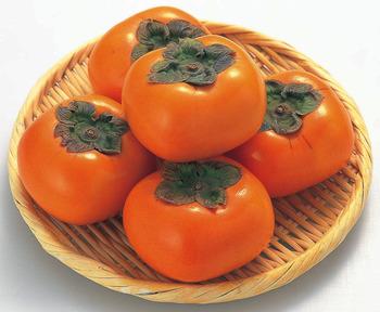 カレーに柿が合う
