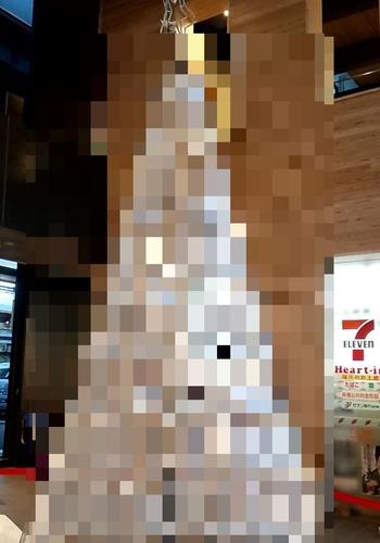 ペットボトルタワー