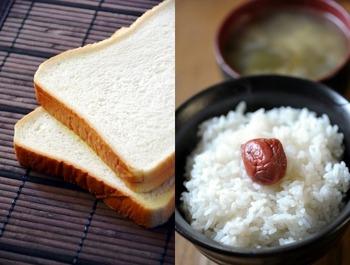 ごはんかパンかでわかる世代