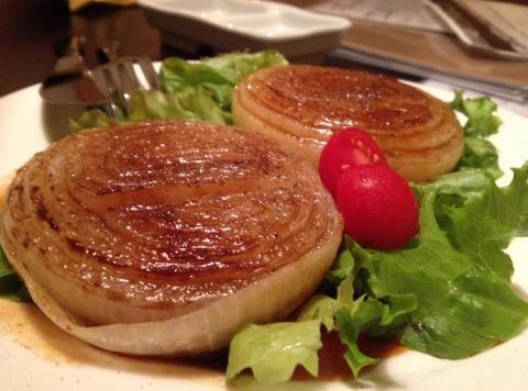 玉葱ステーキめちゃ美味い