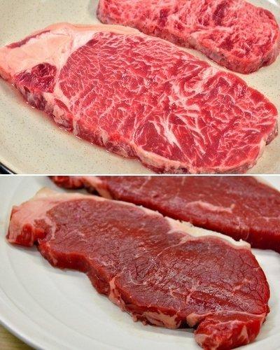 成型肉のステーキを見抜け