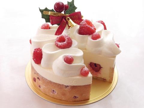 クリスマスケーキは秋から作りにかかっている