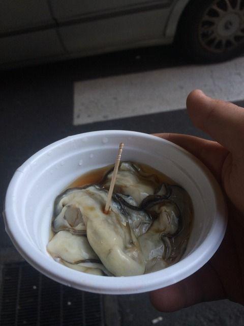 ワイ将、加熱用の牡蠣を生で食べてしまう痛恨のミス