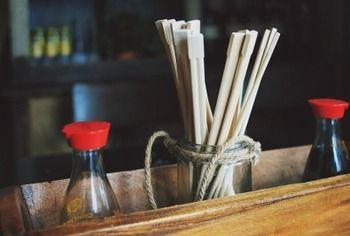 割り箸に醤油つけて食うのうますぎワロタwwwww