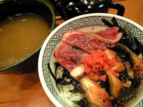 丼&スープ割り