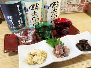 100種以上の日本酒と粋なアテのオシャレ立ち飲み!「茶屋町Marry」@大阪梅田