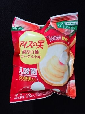 アイスの実 濃厚白桃ヨーグルト味