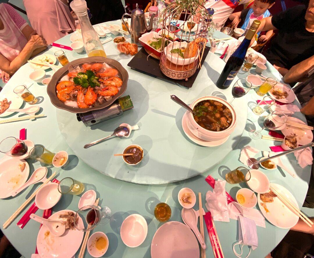 昨日の台湾の爸爸節/父の日の家族ごはん