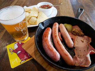 出来立て箕面ビールでしあわせの昼酒タイム!「MINOH BEER WAREHOUSE」@大阪箕面