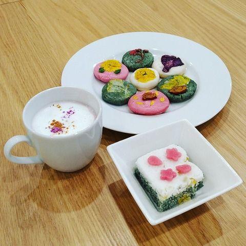 ハンバンスタイル協会イベント インスタ映えばっちり!韓国の花煎&韓方茶イベントを開催!