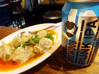 クラフトビールと個性的なオリジナル餃子!「541+」@大阪新町