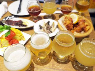 豊富なラインナップが魅力的!お料理も充実のクラフトビア酒場!「Kamikaze」@大阪西大橋