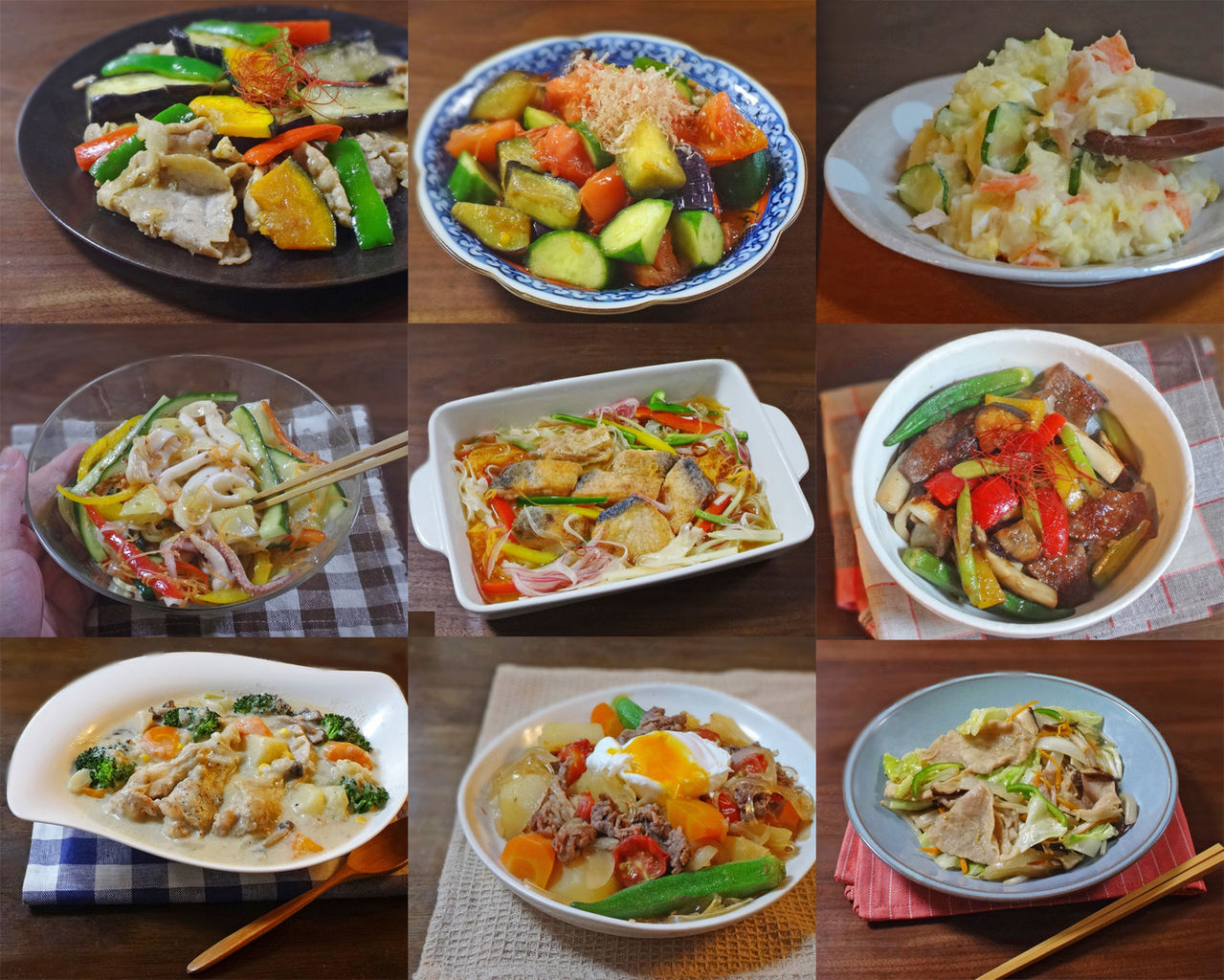 【野菜たっぷりレシピ9選】野菜のおいしさ堪能できる簡単ヘルシー料理