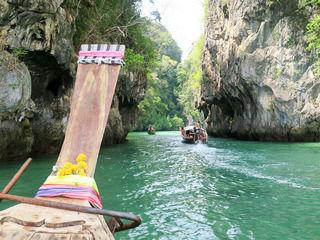 【タイ・グルメ旅】天然プールに天然温泉!クラビで手付かずの自然を満喫。