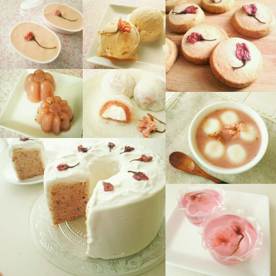 桜レシピ一覧