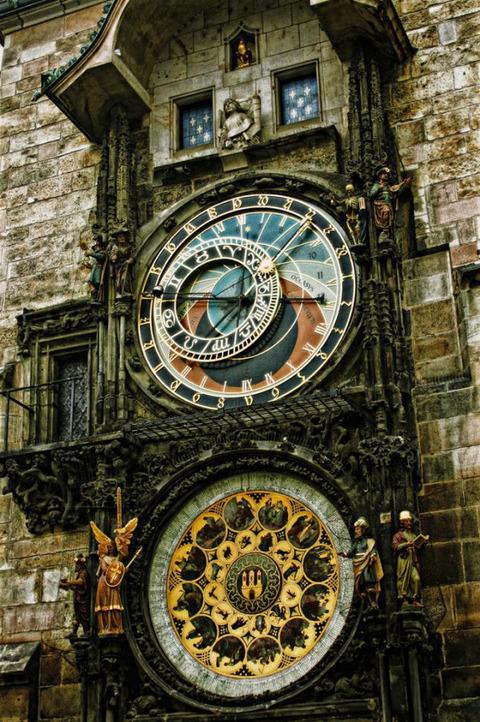 チャコ・プラハの天文時計がステキすぎるwww