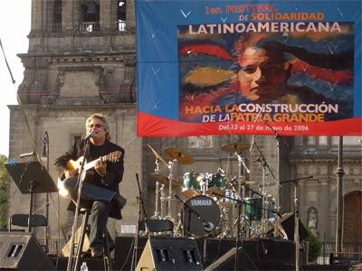 ...旅とリズム...旅の日記 by 栗本斉...ソカロのラテン・アメリカ音楽フェスティヴァルコメントトラックバック